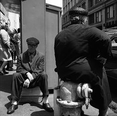 Chicago, Woman Sitting On Hydrant, 1968