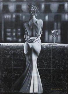 White nights Painting by Irina Goldenfish Art Beauté, Artistic Fashion Photography, Editorial Photography, Photography Ideas, Pics Art, Beauty Art, Erotic Art, Female Art, Art Girl