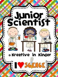Junior Scientist!  This unit is 128 pages and includes the following experiments:  liquid or solid, germs, blubber, making rain, plant absorption, teeth, and making a volcano.  $