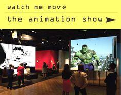Watch Me Move : El Show de Animación se presenta en el FRIST
