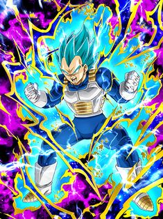 """[Passion of the Warrior Race] Super Saiyan God Super Saiyan Vegeta """"My Super Saiyan Blue form will be the end of you!"""""""