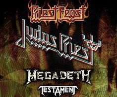 Judas Priest + Megadeth + Testament au Zénith de Paris (21.03.2009) - Live report - La Grosse Radio Metal - Ecouter du Metal - Webzine Metal