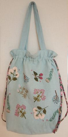 Spring mood string big bag : 네이버 블로그
