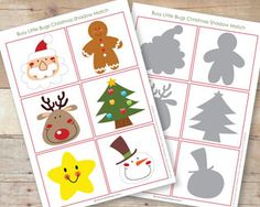 FREE PRINTABLE CHRISTMAS MATCHING GAME