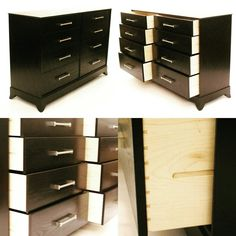 Espresso Chest of Drawers