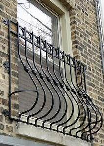 Decorative Wrought Iron Window Guards Hooks Lattice Balcony
