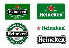 Logo Heineken Psd - This is an unofficial version based on the fair use doctrine. The logo portrays a parody of a commercial logo that is the legal property of heineken i. Tiger Beer, Logo Psd, Beers Of The World, Famous Logos, Holland, Skate, Pop Design, Bottle Mockup, Evolution