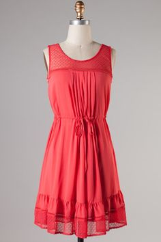 It's light, it's soft and a perfect coral color for summer! Get it' August 1st at www.phileoboutique.com!