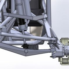 "784 Likes, 14 Comments - LSK SUSPENSION (@lsksuspension) on Instagram: ""26"" of wheel travel #laser #cnc #solidworks"""