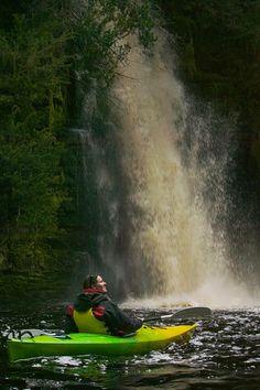 Kayaking, nice!