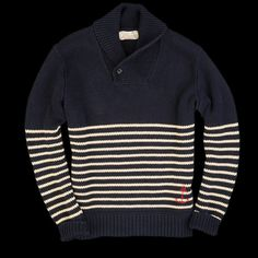Striped sweater by RRL #menswear #menstyle #sweater #RRL