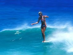 Time between waves: Gratuitous Gallery of Girls Surfing Up the Nose
