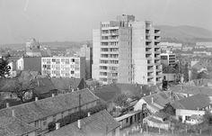 1973. Eger, Csebokszári városrész Hungary, Multi Story Building