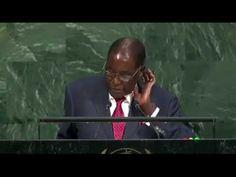 'Giant Gold Goliath Trump' - Mugabe's Speech At The 2017 UN General Asse...