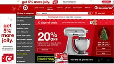 This article talks about Target's plans for Cyber Monday. Going against what most people believe to be a pointless sales day, Target will continue to create sales for all purchases on Cyber Monday.  Estefania Gonzalez