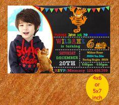 Garfield Birthday Invitation, Garfield Invitation, Garfield Birthday, Garfield Party, Garfield Printable, Instant Download by NutBirthdayInvite on Etsy