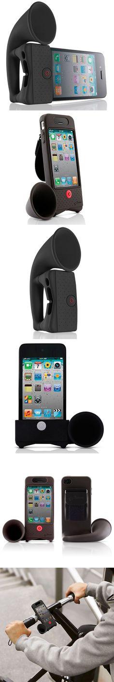 HORN  iPhone-LAUTSPRECHER Stromloser Soundverstärker!