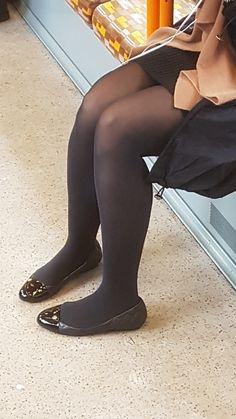 Girls Wear, Ballet Flats, Knee Boots, Legs, Pretty, How To Wear, Shoes, Fashion, Women's Feminine Clothes