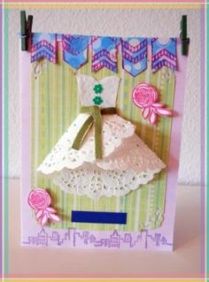Comment réaliser une robe avec un napperon papier