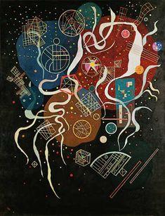 Vassily Kandinsky - Movement I.