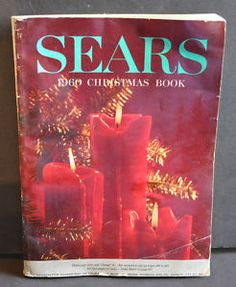 "Sears Christmas Book..oh yeahhh..we spent hours putting circles on wanted items! We called it the ""wishbook."""