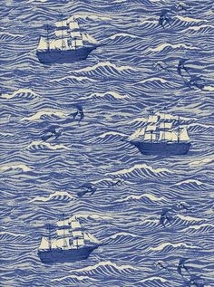 Collection:S.S. Bluebird Designer:Sarah Watts Manufacturer:Cotton + Steel Fabric Content: 100% cotton, 44 inches wide * This fabricis sold by the 1/2 yard.