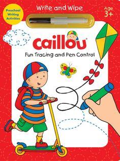 Caillou Fun Tracing And Pen Control Activity Book