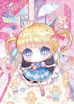 Pin by claudia sterba on for juju in 2019 аниме, чиби, карти Cute Anime Chibi, Kawaii Chibi, Cute Anime Pics, Kawaii Art, Kawaii Anime Girl, Anime Kunst, Anime Art, Cute Screen Savers, Nostalgia Art