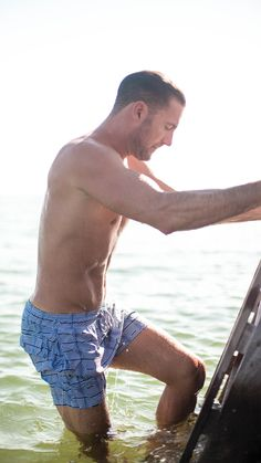 Love these swim trunks! They're made of only the highest quality fabrics.