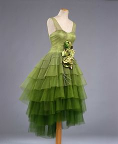 Robe de style, 1926-28. From the Galleria del Costume di Palazzo Pitti via Europeana Fashion.