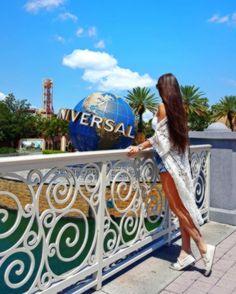 New post on baiibbyy Disney Universal Studios, Universal Orlando, Viaje A Disney World, Walt Disney World, Disney Poses, Travel Pose, Disney Parque, Disney Word, Cute Disney Pictures