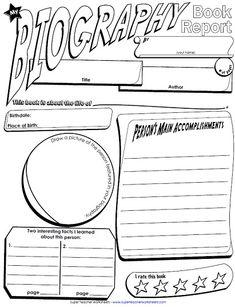 Book report activities for third grade