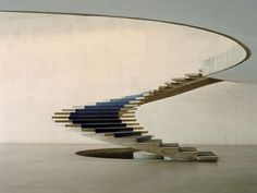 design-related:    Oscar Niemeyer stairs. Photograph by Todd Eberle  Courtesy toddeberle.com