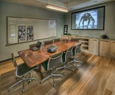 Office Design - Custom Conference Room, Conference Table
