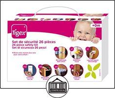 Tigex 80800776 - Kit seguridad 26 piezas  ✿ Seguridad para tu bebé - (Protege a tus hijos) ✿ ▬► Ver oferta: http://comprar.io/goto/B01DM8SGNE