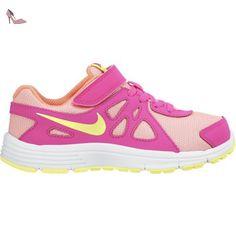 online store 9a0bf d67b0 Nike Revolution 2 Psv, Baskets pour fille - rose - FucsiaCorallo, EU 28  (US 11C) EU Amazon.fr Chaussures et Sacs