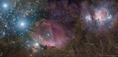 Orion Deep Wide Field | da DeepSkyColors