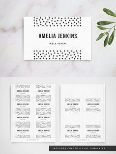 Table Name Card Psd Xmas Wedding Card Templates