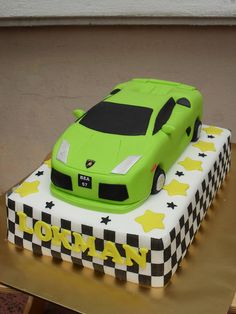 1000 Images About Lamborghini Cake On Pinterest Ferrari