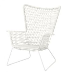 ikea h gsten chair with armrests outdoor hand woven. Black Bedroom Furniture Sets. Home Design Ideas
