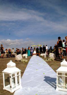 Panoramica durante il rito civile