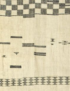 Detail: Display cloth /hanging, early C20th. Mende, Sierra Leone. Private collection, New York.