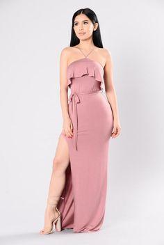 You Know I'm Saucy Dress - Rose