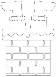 Christmas Templates for Eva and Feltro - # for - Joyeux Noel Preschool Christmas, Christmas Activities, Christmas Crafts For Kids, Felt Christmas, Christmas Printables, Christmas Colors, Simple Christmas, Holiday Crafts, Christmas Time