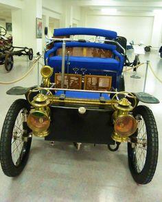 Warburg 5 HP - 1900 - Vintage car at the National Technical Museum of Prague… Vintage Cars, Antique Cars, Automobile, Czech Republic, Antiques, Gallery, Vehicles, Trucks, Face