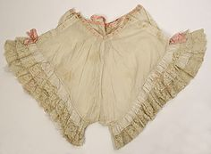 19th century French knickers