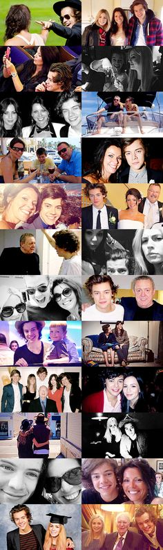 Harry Styles + family