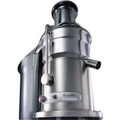 Breville Juice Fountain Elite Juice Extractor Providing commercial performance with home kitchen convenience, this juicer runs on 1000 watts with two speeds, RPM or RPM, for juicing hard and soft ingredients. Specialty Appliances, Small Appliances, Kitchen Appliances, Top 14, Centrifugal Juicer, Juicer Reviews, Electric Juicer, Juicer Machine, Best Juicer