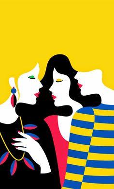Sevgili dostlar çalışmalarına hayran kaldığım bir illustrator olan MALİKA FAVRE'nin çalışmalarını paylaşacağım. Hakkında fazla bilgiy...