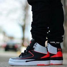 """Air Jordan 2 """"Infrared"""""""